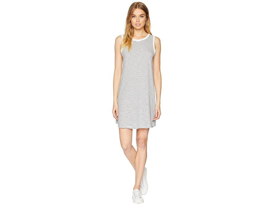Roxy Love Sun Tank Dress (Marshmallow Thin Stripe) Women
