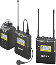 Sony UWPD16/14 Lavalier Microphone, Bodypack TX, Plug-On TX and Portable RX Wireless System
