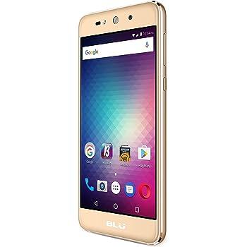 BLU Grand MAX -Smartphone Libre Doble SIM -Dorado: Amazon.es ...
