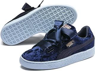 Puma Basket Heart Velour Jr