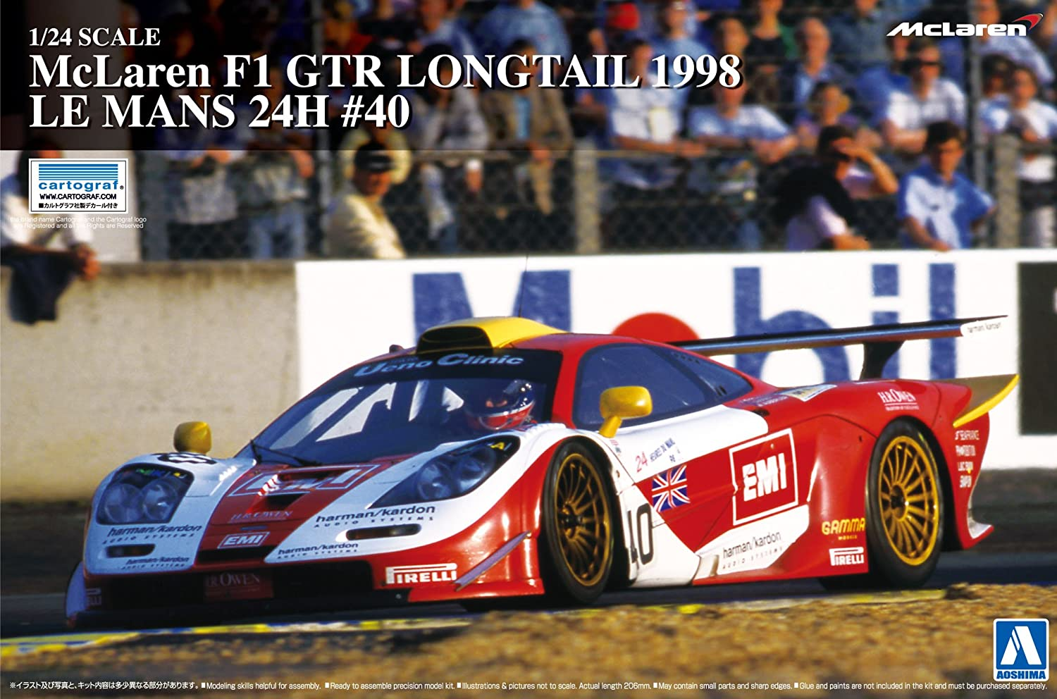 24.01 Super Car Series No.20 McLaren F1 GTR Long Tail 1998 Le Mans 24 Stunden   40