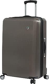 Italy Moda Hardside 28 Inch Spinner Luggage, Burgundy