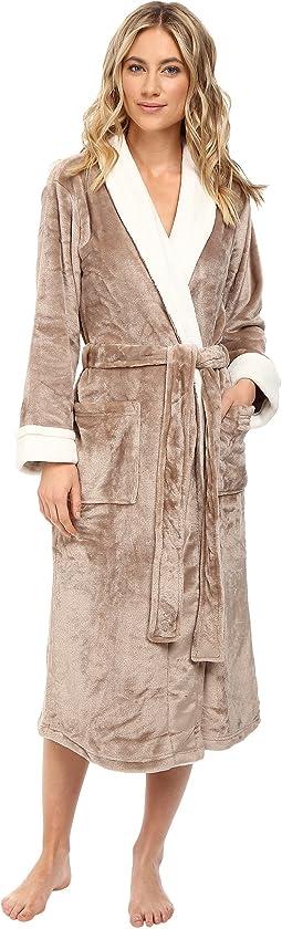N by Natori - Cashmere-Feel Fleece Robe