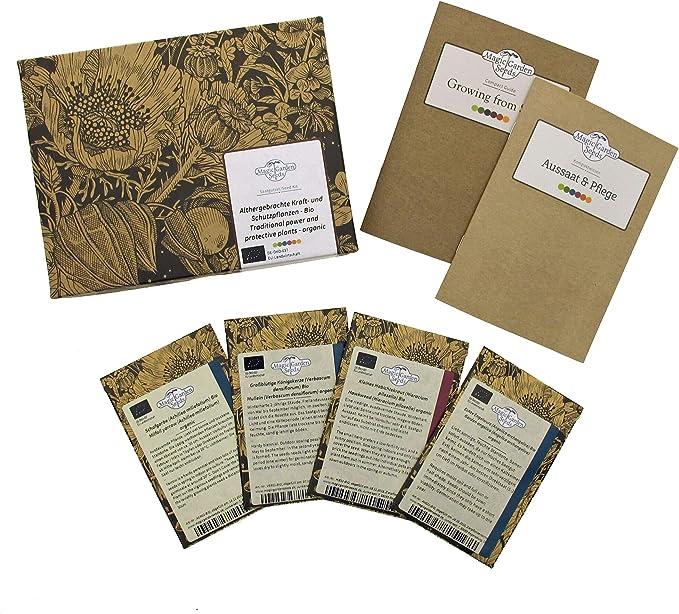 32 opinioni per Piante energetiche e protettive tradizionali (Bio)- Set regalo di semi con 4