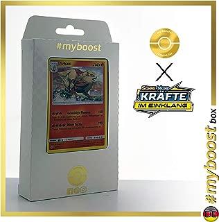 my-booster SM10-DE-22H Pokémon Cards