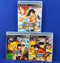 One piece pirate warriors x3 Games 1 + 2 + 3