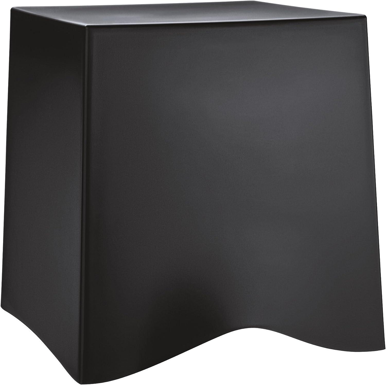 Koziol 5788526 BRIQ Stool, Solid Black