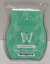 Summer Holiday Scentsy Bar Wickless Candle Tart Wax 3.2 Fl Oz, 8 Squares