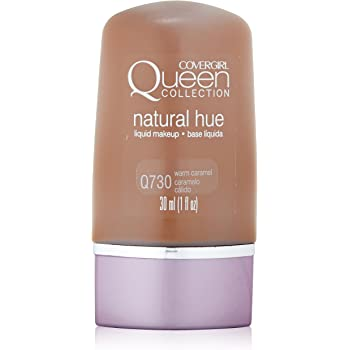 CoverGirl Queen Collection Liquid Makeup Foundation, Warm Caramel 730, 1.0-Ounce Bottles (Pack of 2)