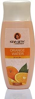 Keya Seth Aromatherapy Aromatic Orange Water Toner with Orange-Blossom Oil for Dry Skin (100ml)