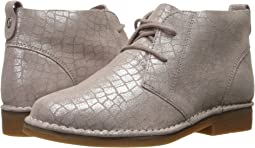 Metallic Croco Suede
