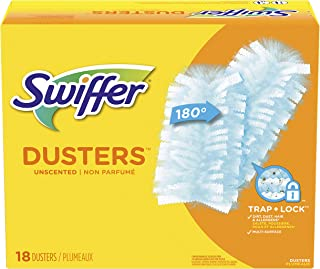 Swiffer Dusters Surface Refills, Multi, 18 Count (Pack of 1), Unscented