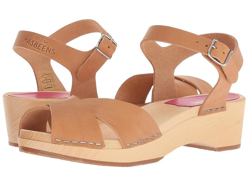 60s Shoes, Boots | 70s Shoes, Platforms, Boots Swedish Hasbeens Mirja Debutant Nature Womens Sandals $169.00 AT vintagedancer.com