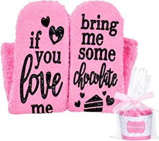 Seafirst If You Can Read This Bring Me Some Coffee Socks,Cupcake Gift Boxes-Pink