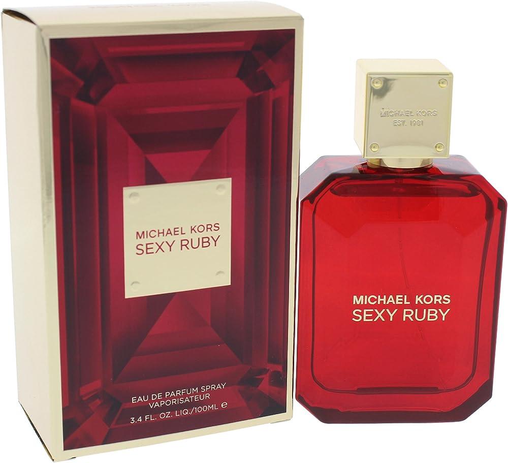 Michael kors sexy ruby, eau de parfum,profumo per donna, vaporizzatore , 100 ml 10008175