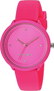 Women's Neon Silicone Strap Watch
