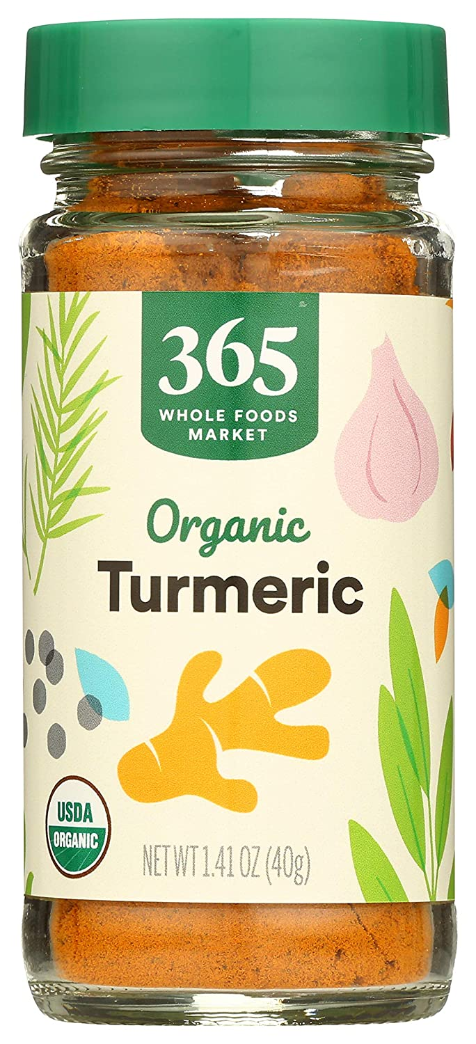 Genuine 365 by Indefinitely Whole Foods Market Organic Ounce Turmeric 1.41