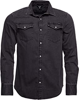 Superdry Hombre Camisa Resurrection