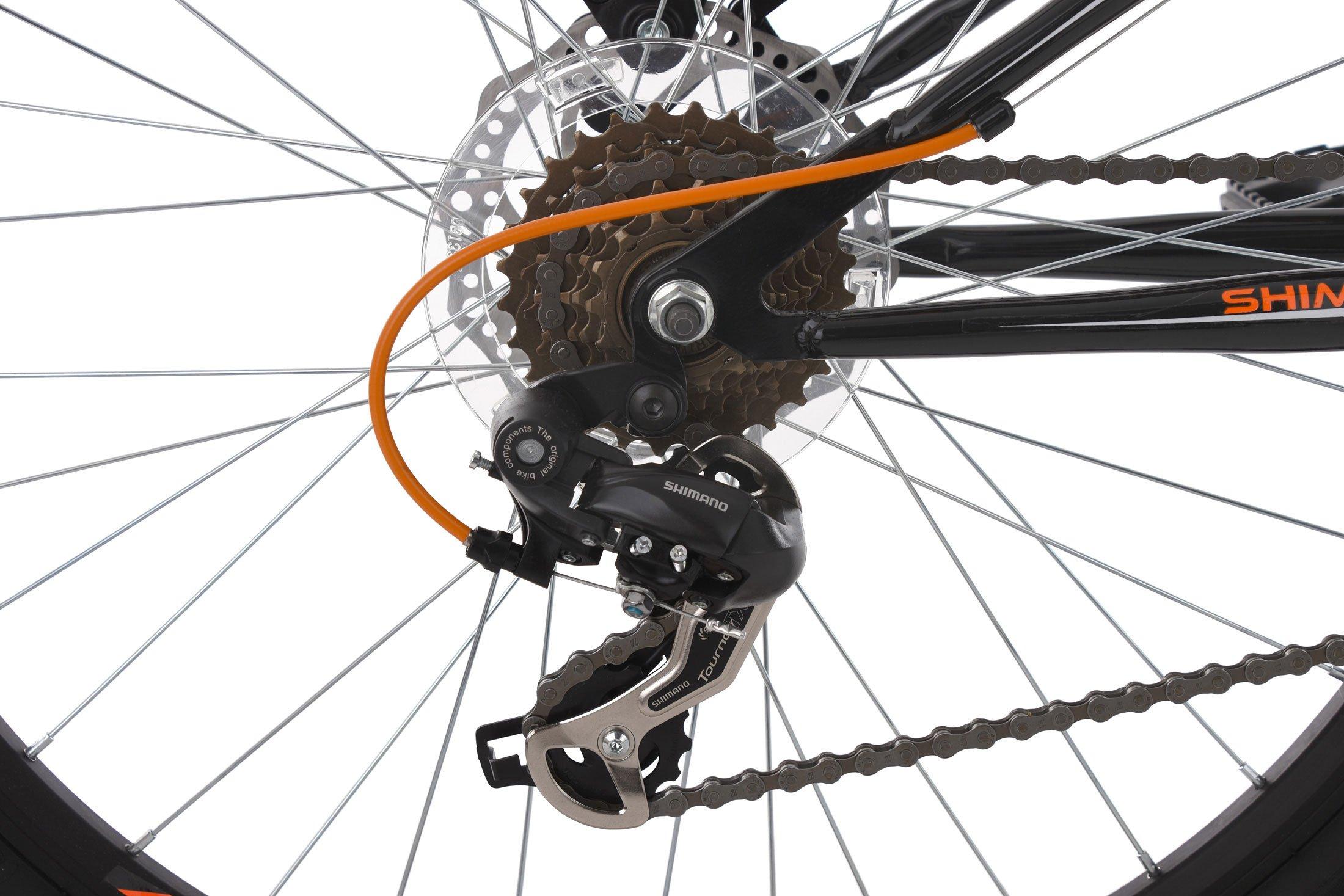KS Cycling Adultos Mountain Bike MTB xtraxx Negro de Naranja RH 46 cm, Negro/Naranja, 26 Pulgadas: Amazon.es: Deportes y aire libre