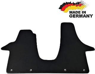 Car Styling Premium Fußmatte T5 2 3 Sitzer Fahrerhaus Velours ANTHRAZIT Nubuk Umrandung