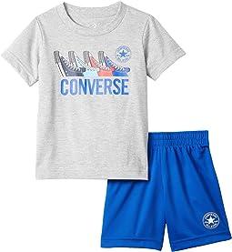 Graphic T-Shirt & Shorts Set (Toddler)