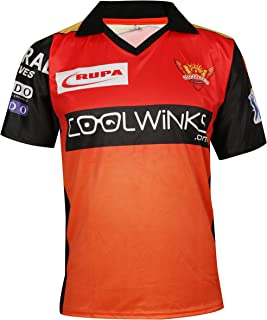 Cricket IPL Jersey Supporter Jersey T-Shirt 2019 with Print (Pant 17, DHONI 7, VIRAT 18 and Stokes 55)