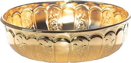 Alisveristime Turkish Authentic Copper Bath Bowl & Hammam Bowl Gold