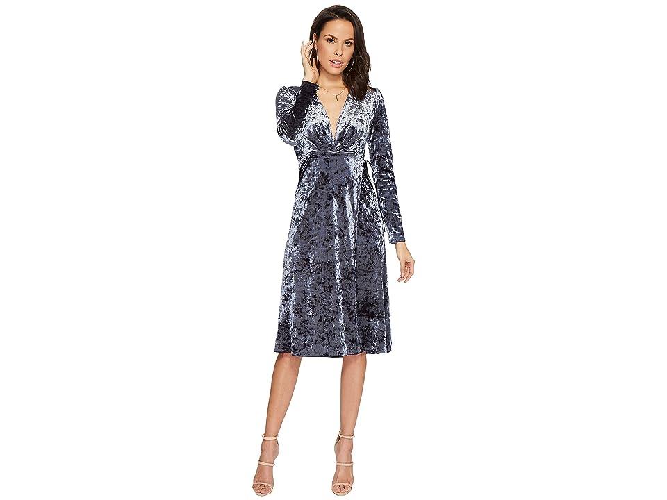 ASTR the Label Georgette Dress (Sapphire) Women