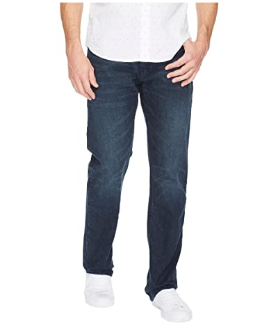Nautica Straight Fit Stretch in Adriatic Sea Wash (Pure Adriactic Sea Wash) Men