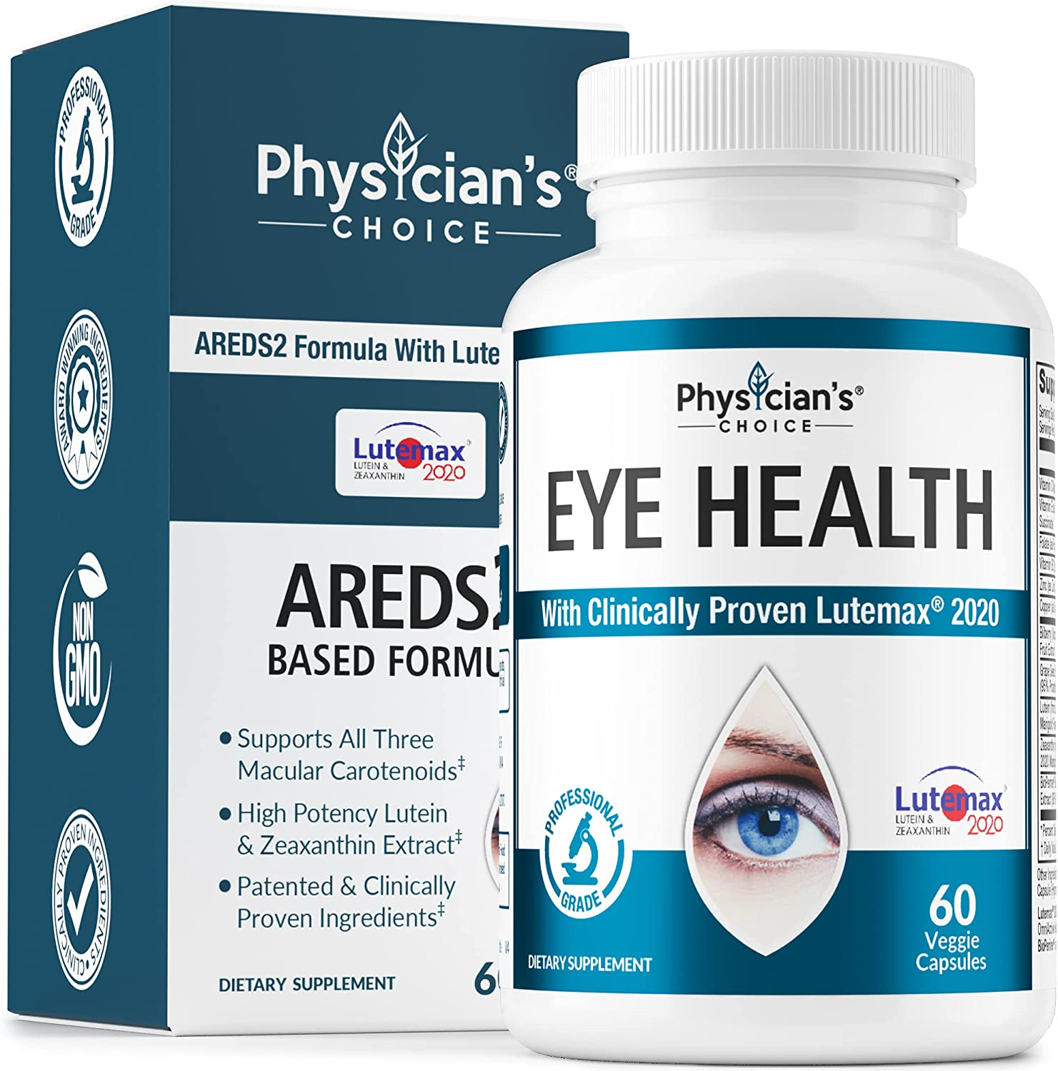Areds 2 Eye Elegant Vitamins Clinically Lutein 2020 Proven Mail order cheap Ze LuteMax
