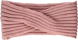 PIECES Women's Pcvirtula Twisted Cashmere Headband Noos, Pink (Rosette), One Size