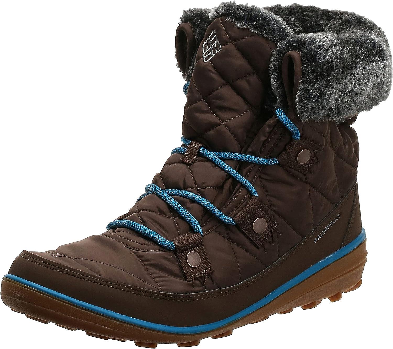 Columbia Women's Heavenly Shorty Omni-HEAT Winter Boot, Waterproof & Breathable
