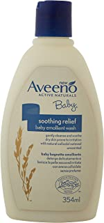 Aveeno Baby Soothing Relief Emollient Wash, 354ml