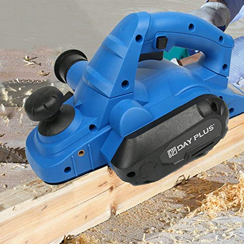 popular Electric Wood Planer 650W Hand Planer with 6ft Cable, 3-1/4 Inch Planing Width 18000RPM, Max 5/64 Inch Adjustable Cut high quality Depth, with Parallel Fence Bracket Self-locking Switch outlet sale for DIY Wood Projects online