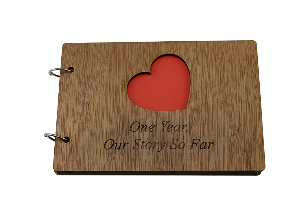1 Year Our Story So Far - Scrapbook, Photo album or Notebook Idea For 1st Anniversary r281772846