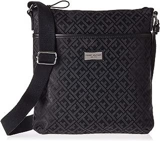 Tommy Hilfiger Crossbody Bag for Women - Canvas, Black