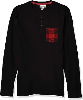 Hatley Men's Long Sleeve Pajama Tee Top