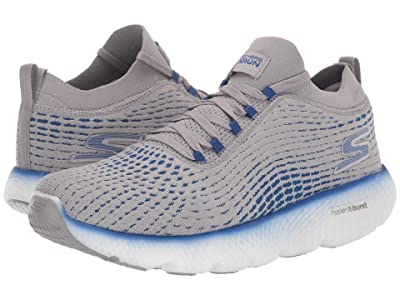 SKECHERS Max Road 4 (Gray/Blue) Men