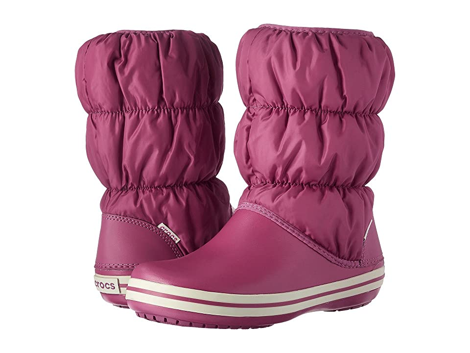 Crocs Winter Puff Boot (Berry) Women