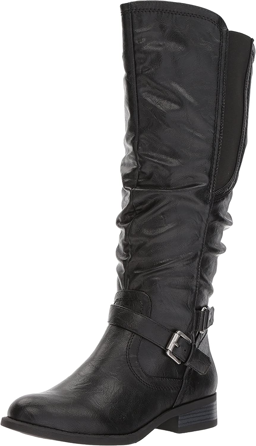 White Mountain Lyle Wide Calf Women's Boot