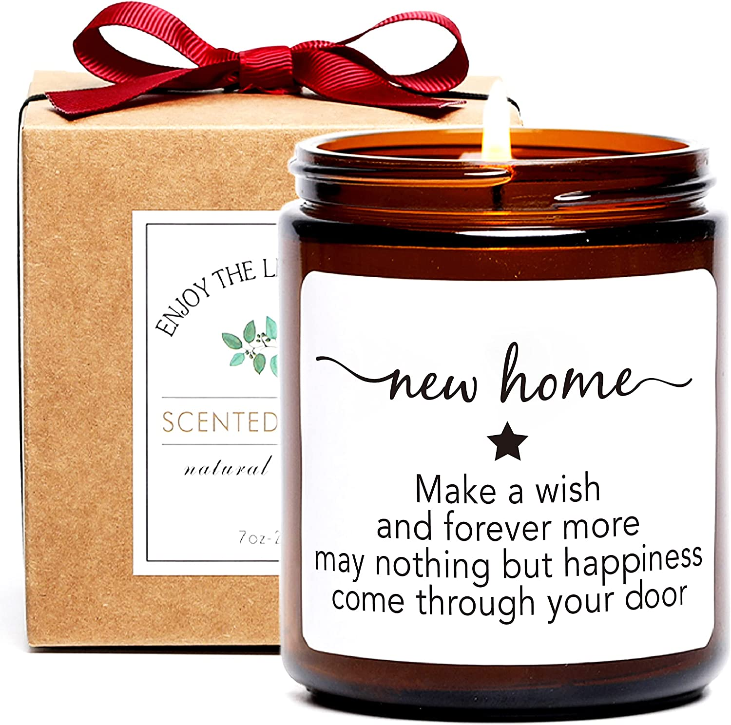 Funny Housewarming Gift Scented Candle, New Home, Moving Away Gift Ideas for Men and Women