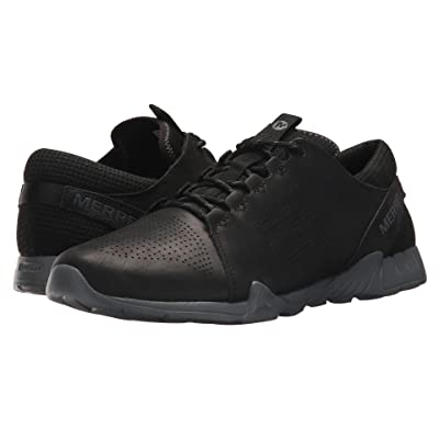 Merrell Versent Kavari Lace Leather (Black) Men