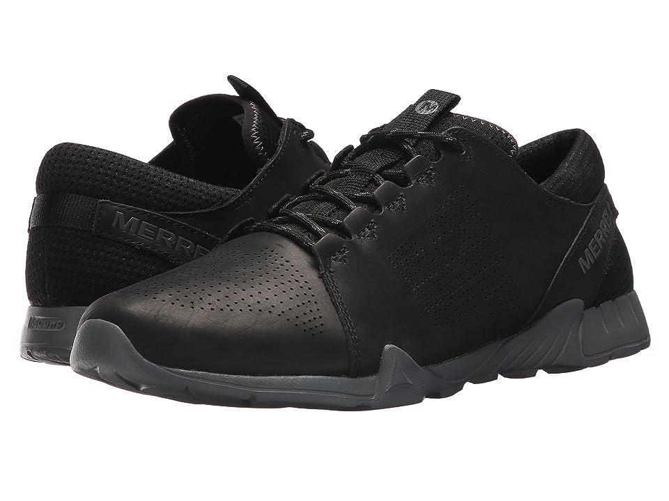 Merrell Versent Kavari Lace Leather (Black) Men