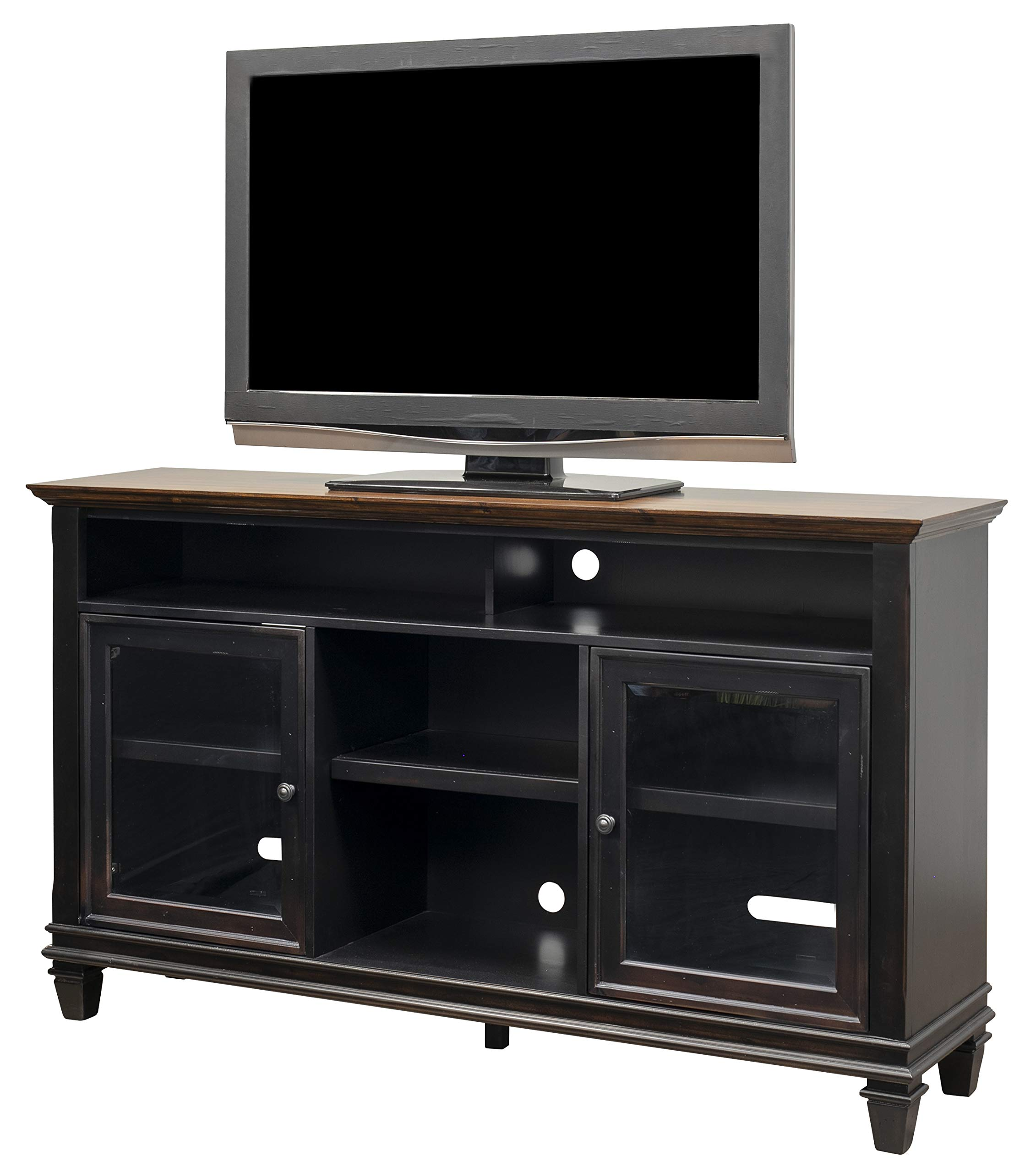 Grenen Tv Kast White Wash.Amazon Com Mecor Modern White Tv Stand With Led Lights High