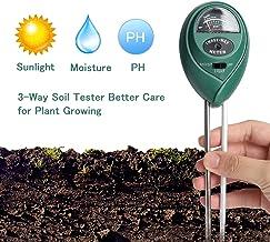 Ruolan Soil Ph Meter for Soil Test Kit with pH Moisture Meter PrecisionTest Soil Ph Plant..