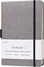 Clearance Sales! Planner 2019 - Academic Monthly & Weekly Planner with to Do List & Pen Loop, 5 Weeks a Month, 60 Weeks - Premium Thick Paper, 5.75