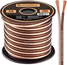 Blue//Brown Skar Audio 14 Gauge AWG Audio Speaker Wire 30 Feet
