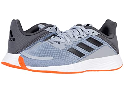 adidas Kids Duramo SL (Little Kid/Big Kid) (Halo Silver/Iridescent/Solar Red) Kid