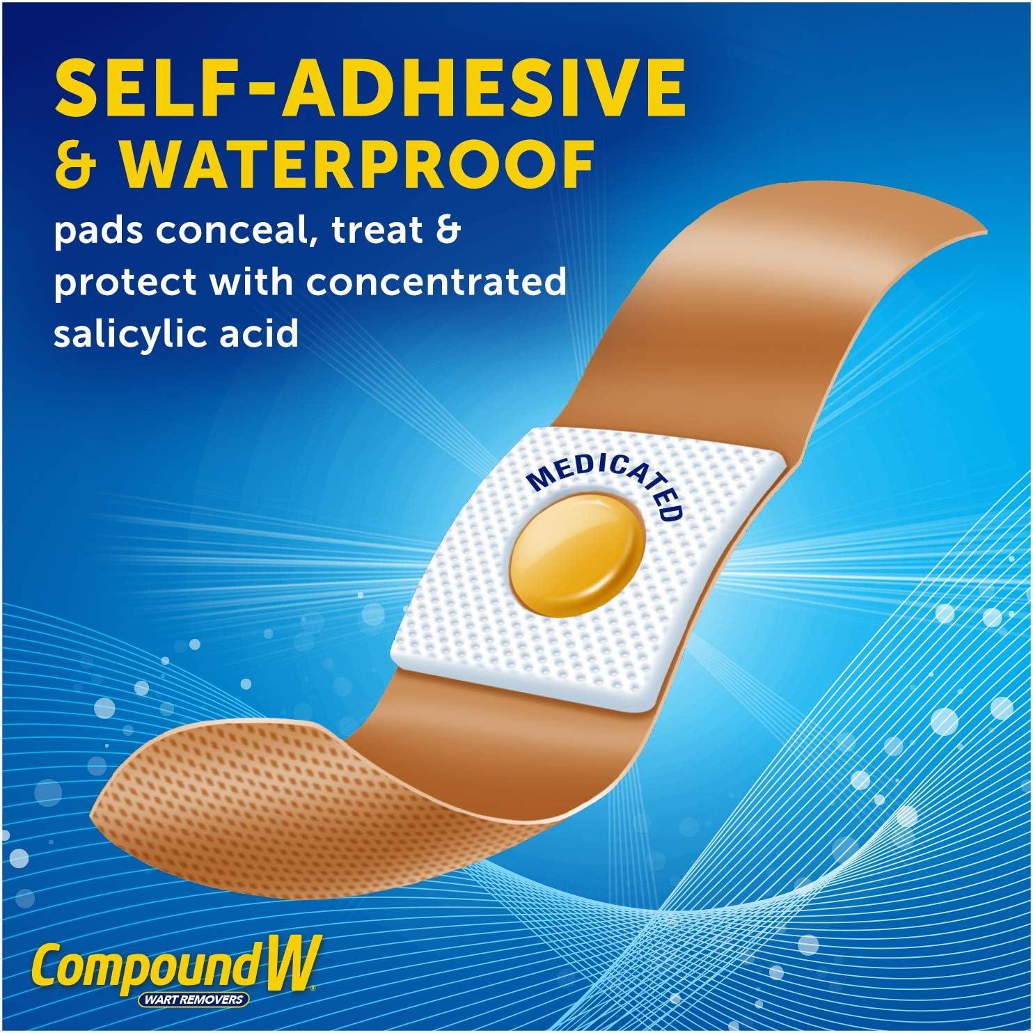 wart treatment band aid)