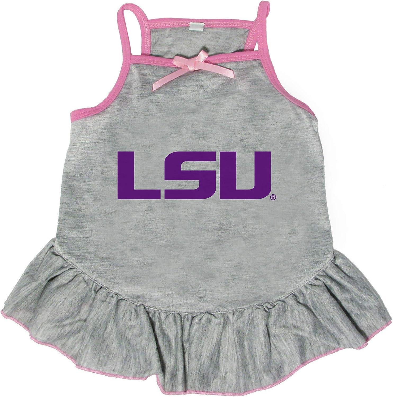Recommendation Littlearth NCAA LSU Tigers price Medium Pet Dress